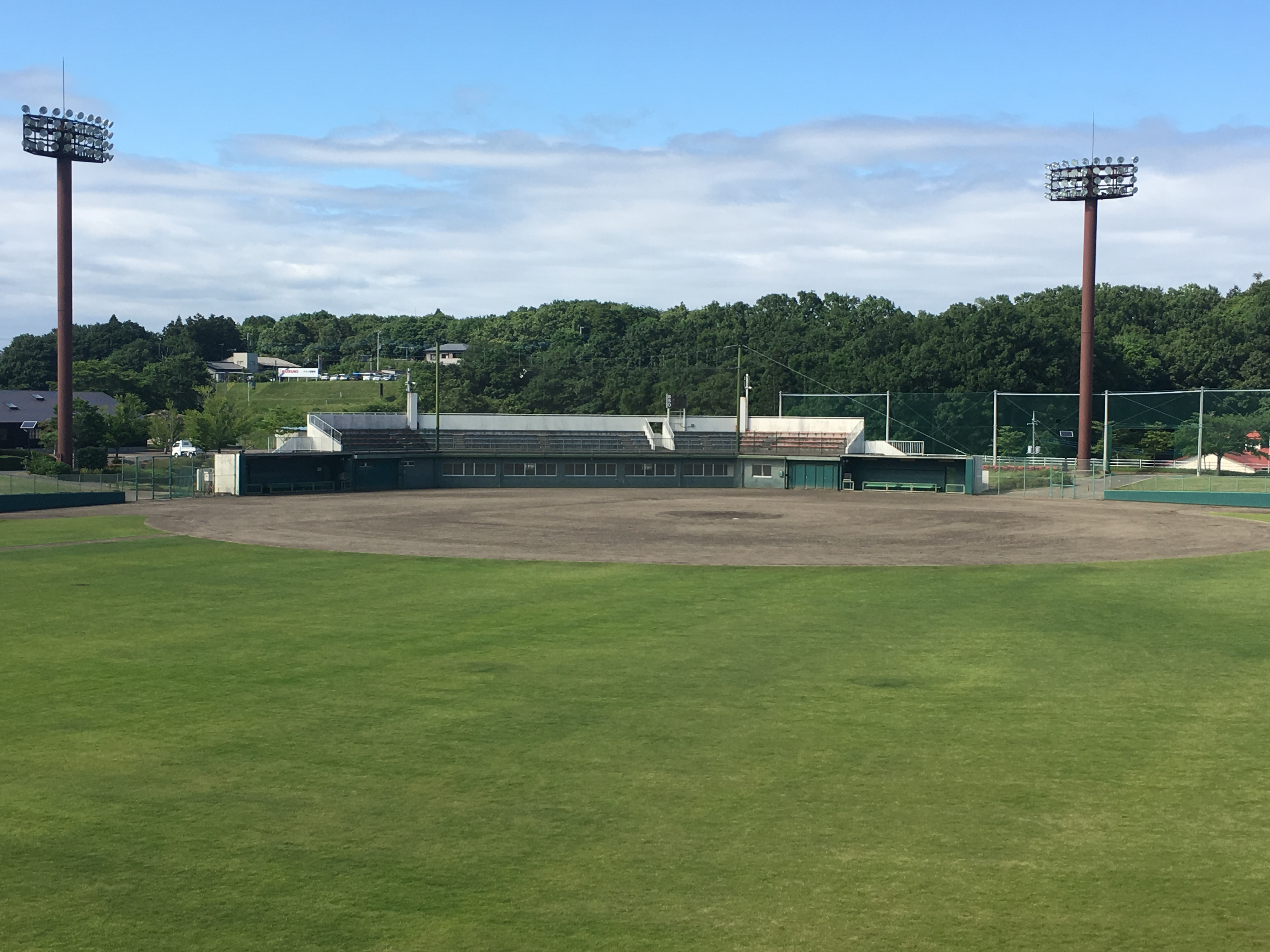 光と風の丘公園野球場